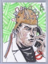 Ghostbusters 2016 Cryptozoic Sketch Art Card Clayton McCormack Dr Ray Stantz 1/1