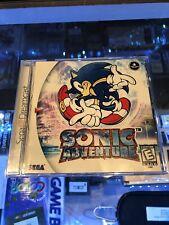 Sonic Adventure (Sega Dreamcast) CIB   VG Condition   Free Shipping