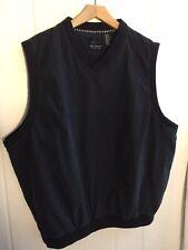 Vintage Greg Norman Golf Wind Breaker, Pullover, V-Neck Vest, Size XL