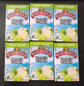 36 Servings of MARGARITAVILLE Margarita Drink Mix Singles To Go!  6 BOXES