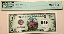 2014D $1 Splash Mountain Disney Dollar PCGS Graded Gem New 66PPQ, D006538