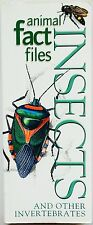 ANIMAL/INSECTS FACT FILES on INVERTEBRATES - Preston-Mafham 224pp INSECTS & MORE