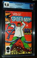 WEB OF SPIDER-MAN #5 1985 Marvel Comics CGC 9.8 NM/MT