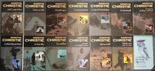 Agatha Christie lot 13 livres éditions du Masque-Hachette, imp. 1996-97
