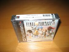 Final Fantasy IX 9 Playstation Ps1 Game Original New Sealed