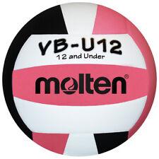 Molten VBU12 Light Youth Volleyball Pink/Black Size 5 - US Seller ***