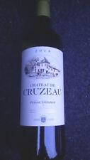 Superbe bouteille de Pessac-Léognan blanc du Château de Cruzeau 2014 d'A.Lurton