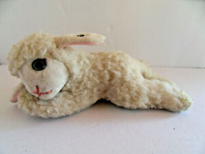 Steiff lamb sheep with button stuffed animal  made in Germany 2797