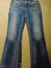 Silver AIKO Mid Boot Women's Jeans W27 L33