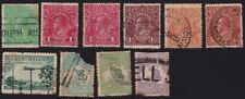 AUSTRALIA 1915-32  32 stamps DAMAGED -minor to major @E3238