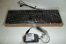HP Multimedia USB Keyboard w/Sleep Volume Mute 697737-001 + Mouse 697738-001 NEW