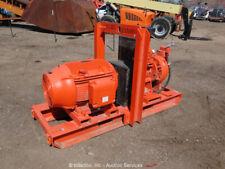 Godwin Hl100M Portable Skid Mounted Electric Dry Prime Watering Pump bidadoo