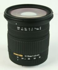 Sigma DC 17-70mm f/2.8-4.5 DC Macro Lens For Canon Camera