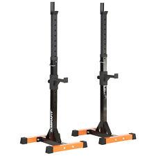 Mirafit Supports Squat Musculation Réglable Repose-barres Equipement Gym Maison