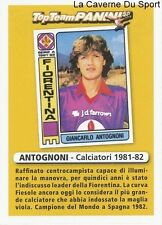 ANTOGNONI ITALIA FIORENTINA RARE UPDATE STICKER CALCIATORI 2011 PANINI TOP TEAM
