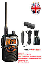 Cobra MR HH125 Handheld VHF Marine LCD Radio for Boat Vessel Yacht