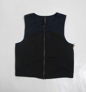 Lululemon Face Forward Crop Top *lululemon x Roksanda True Navy / Black Size 6