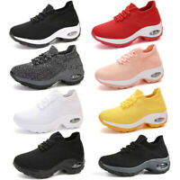 Women's Running Athletic Shoes Trainers Lightweight Breathable Fitness Sneakers