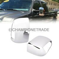Chrome Side Mirror Cover Signal For 99-07 Ford F250 F350 F450 F550 Excursion CT