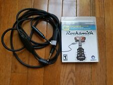 Rocksmith original & 2014 Complete w/ official Real Tone cable Playstation 3 PS3