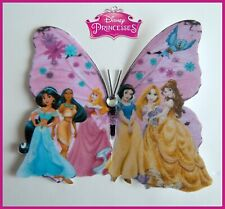 Disney Princesses  butterfly decor,  girl's bedroom wall sticker