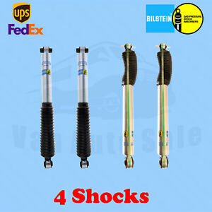 "Bilstein shocks 4-6"" Front 2-4"" Rear lift for Chevy K1500 Pickup 4WD 88-99 Kit 4"