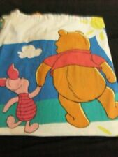 Winnie The Pooh Piglet Fabric Twin Flat Sheet decorative fabric craft material