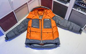 Mountain Hardwear Absolute Zero Parka, Orange, Medium, Worn a few Times
