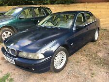 BMW 5 series 2001 520i Dual Fuel (Petrol /LPG) Dark Blue. Good condition