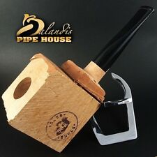 CLUB HOUSE Tobacco Pipe Briar Wood Block new SBB - Pre Drilled Beginner DIY Kit