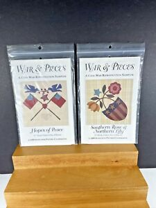 War & Pieces Civil War  Quilt Pattern Blocks  #1,#2 1999 NOS