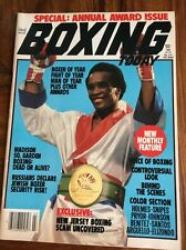 BOXING TODAY SUGAR RAY LEONARD 1982 MAGAZINE SPECIAL ANNUAL AWARDS ISSUE