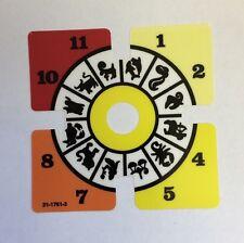 Twilight Zone Pinball Replacement Clock Decal