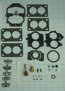 "1976-88 CARB KIT CARTER BBD 2 BARREL CARBURETOR AMC 258"" ENGINES ETHANOL TOLER"