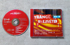 CD AUDIO INT/ VARIOUS TRANCE UNLIMITED VOL.2 CD COMPILATION 1994 MUSIDISC 14 T