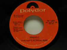 FIVE MAN ELECTRICAL BAND: Werewolf / Country Angel, 45 RPM, VG+