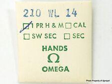 Vintage Original Omega White Leaf Hour & Minute Hands 210Wl14 Omega Cal. 210