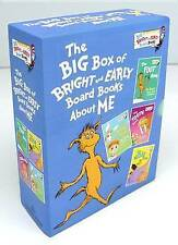 The Big Box of Bright and Early Board Books about Me by Dr Seuss (Board book, 2015)