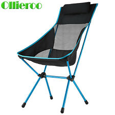 Ollieroo Portable Folding Camping Stool Chair Seat for Fishing Picnic Beach