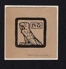 09)Nr.106- EXLIBRIS- Otto Ubbelohde, 1903