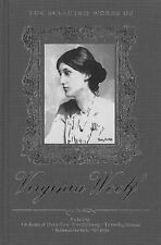 THE SELECTED WORKS OF VIRGINIA WOOLF (Mrs. Dalloway, Orlando ...) HB  NEW