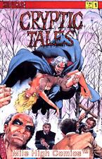 CRYPTIC TALES (1987 Series) #1 Good Comics Book