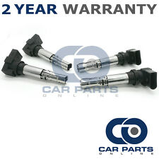 4X FOR VOLKSWAGEN GOLF MK5 1.4 GT TSI 170 (2006-2008) IGNITION COIL PACKS PENCIL