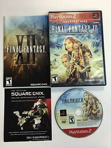 Final Fantasy XII **Complete, MINT, GORGEOUS** - PS2 Playstation 2