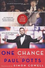 One Chance  A Memoir by Paul Potts 2013, Fast Shipping Paperback Book Biography