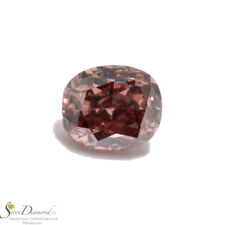 Diamond Natural Color Fancy Deep Pink 0.08 ct Loose Cushion Cut GIA certificate