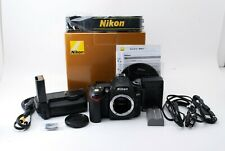 Nikon D D90 12.3MP Digital SLR Camera - Black body + MB-D80 【Excellent+】