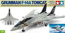 1/48th scale Gruman F-14A Tomcat model kit by Tamiya with Eduard Detail Set