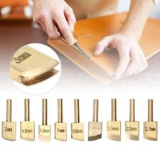 9pcs Brass Leather Edge Solder Soldering Iron Tip DIY Tools for Leathercraft