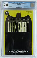 Batman Legends of the Dark Knight #1 CGC 9.8 NM/MT, white pgs Yellow/Green cover